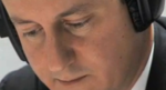 Cameron close Up With Headphones