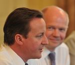 Hague Looking At Cameron