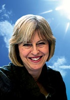 MAY THERESA SMILING