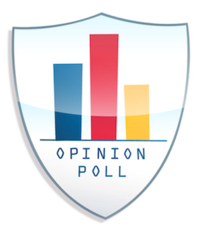 Opinion Poll graphic