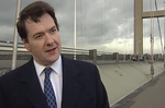 Osborne on a bridge