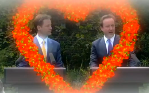 Clegg & Cameron in Heart