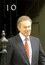 BLAIR DOWNING STREET