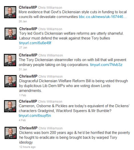 Chris Williamson's tweets