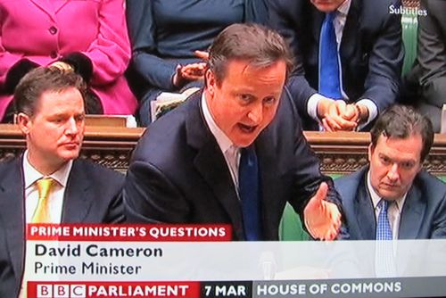 Pmqs march 7th 2012