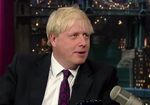 Johnson Boris Late Show
