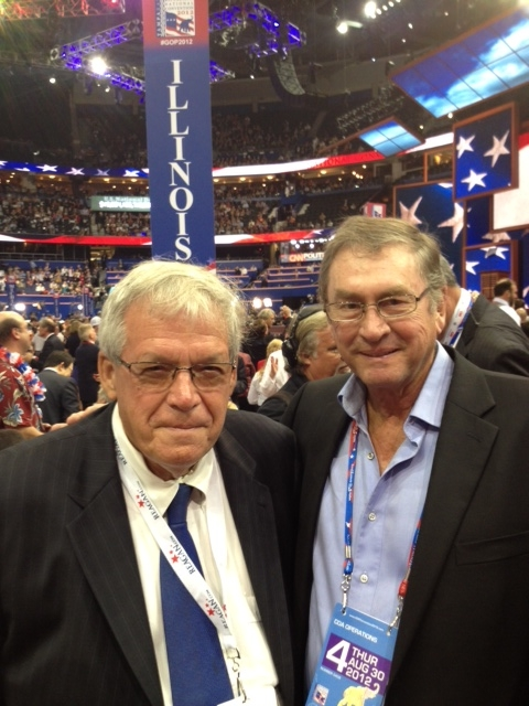 Lord Ashcroft and Dennis Hastert