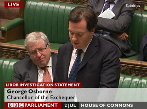Osborne banking statement