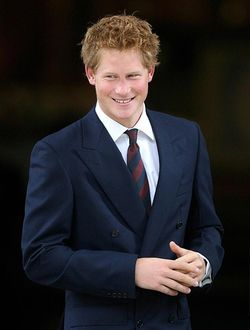 Prince Harry at Olympics 2012