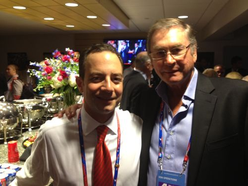 Lord Ashcroft and Reince Priebus