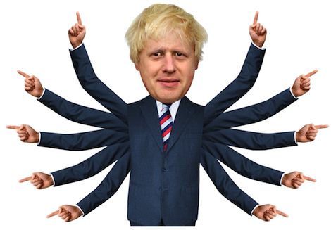 Pointing Boris 4