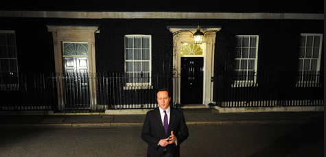 Cameron 10 Downing St At Night