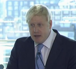 Johnson Boris airport speech