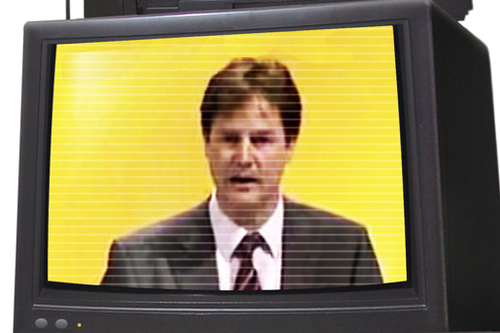 Clegg on TV
