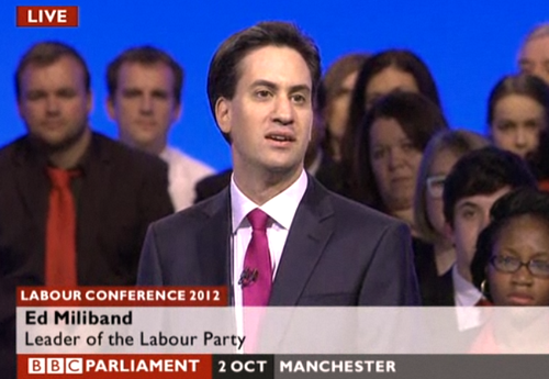 Miliband Ed conference speech