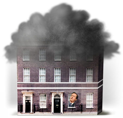 10 DOWNING STREET CLOUDS