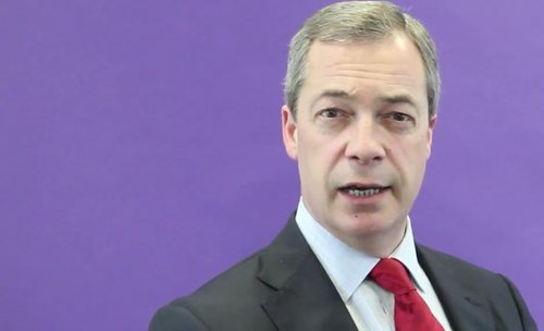 Farage Nigel Purple Long
