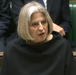 May Theresa in black