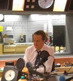 Cameron interviewed radio