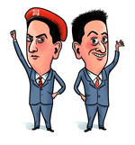 Miliband Odd and Red